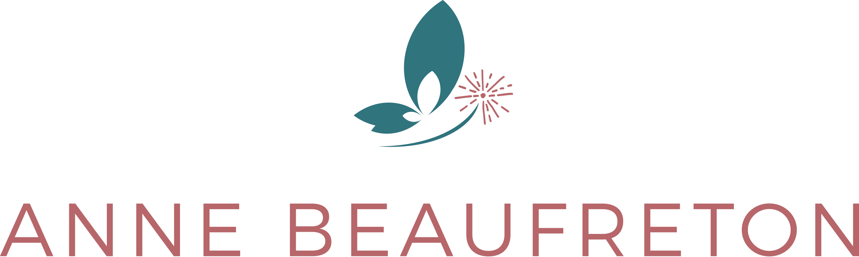 Logotype du site d'Anne Beaufreton